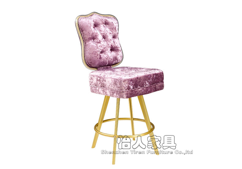 欧式酒吧椅/豪华吧凳/赌场椅/宫廷风格酒吧椅