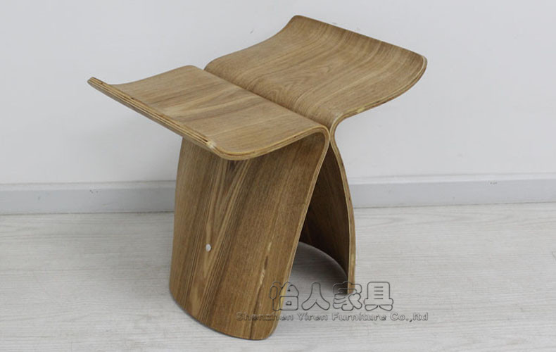 stool/弯木凳/蝴蝶椅/换鞋凳/小凳